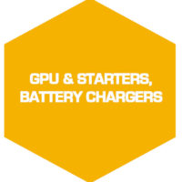 Ground Power Unit & Starters, battery chargers